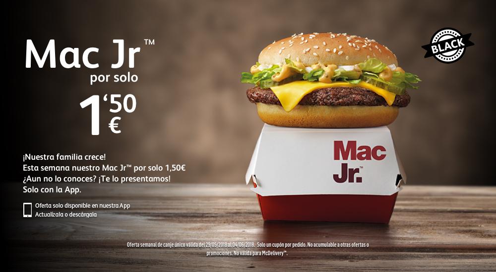 Mac Jr a 1.50€