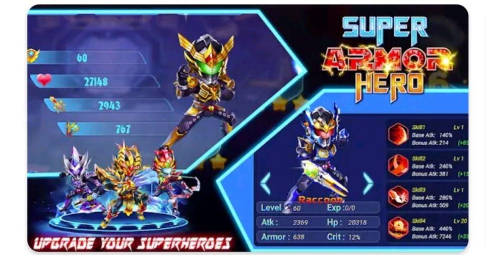 Superhero armor: city war- robot fighting premium