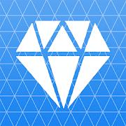 Diamond icon pack