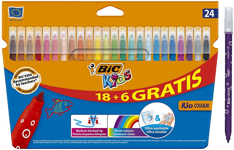BIC Kids Kid Couleur rotuladores punta media