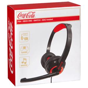 Auricular Coca Cola para PS4 PC MAC Xbox ONE Switch