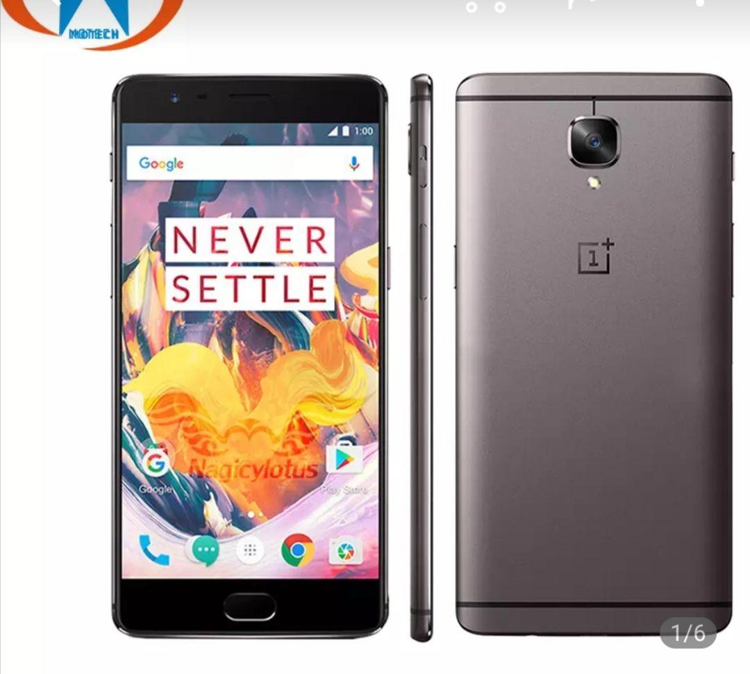 Smartphone OnePlus 3T 6GB RAM 128GB versión UE