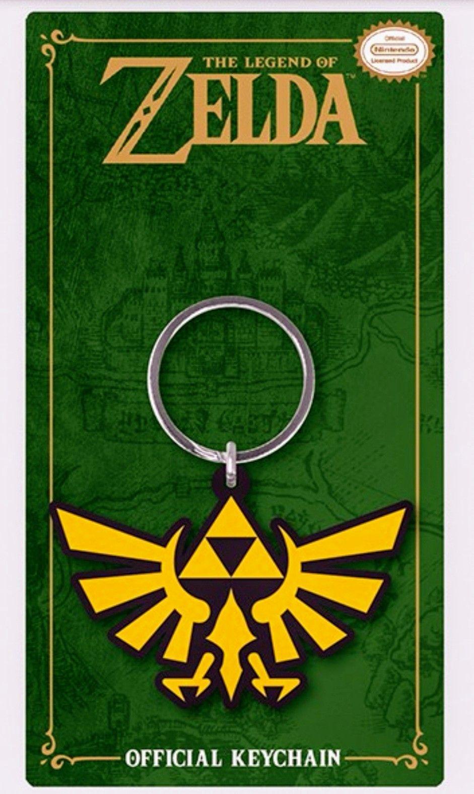 Llavero The Legend Of Zelda del personaje Triforce.