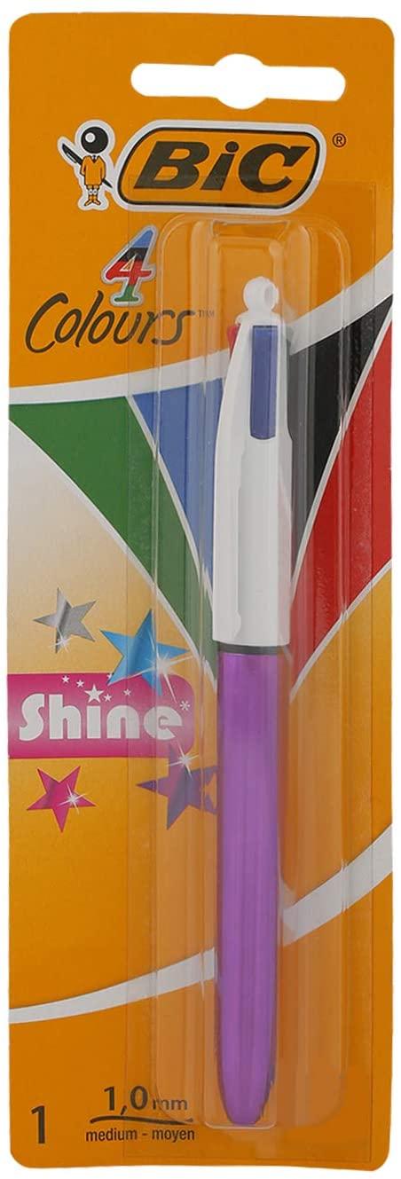 BIC 4 colores Shine Bolígrafo Retráctil y BIC MINI Retráctil rebajados