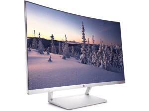 """Monitor - HP 27c, 27"""" Full HD, Curvo, 1800R"""