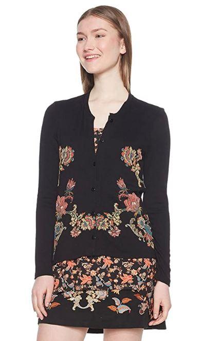 Desigual Sweat_Daniela suéter / chaqueta para mujer. L.