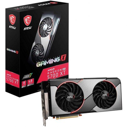 MSI Radeon RX 5700 XT Gaming X 8GB GDDR6 +2 juegos + 3meses xbox game pass +3meses adobe premire rush+ adobe spark