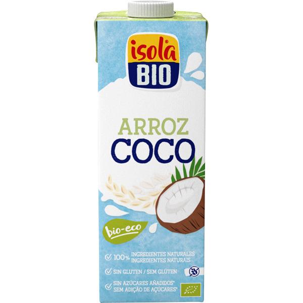 ISOLA bebida de arroz coco