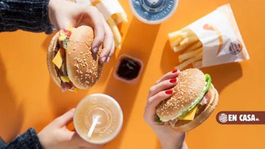 Envio gratis en Burger King con Just Eat
