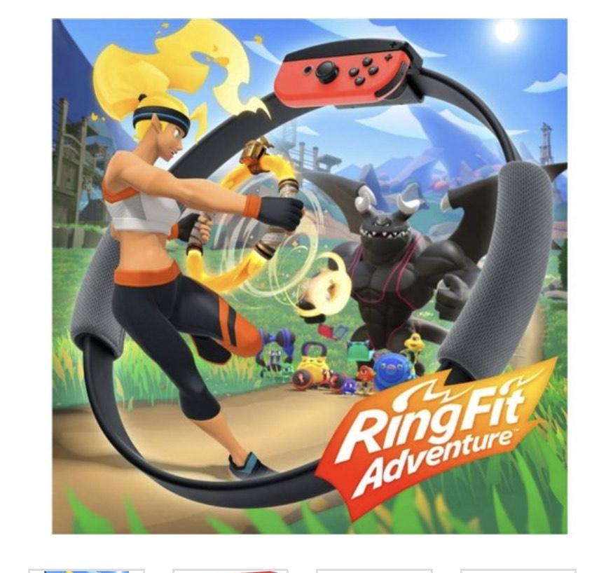 Juego Nintendo Switch Ring Fit Adventure (WORTEN)