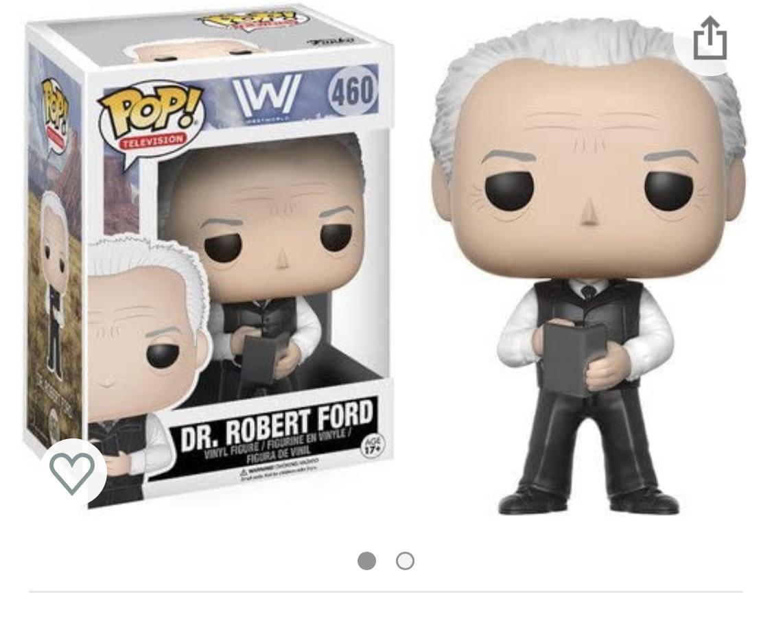 Funko del DR. Robert Ford de Westworld de importación
