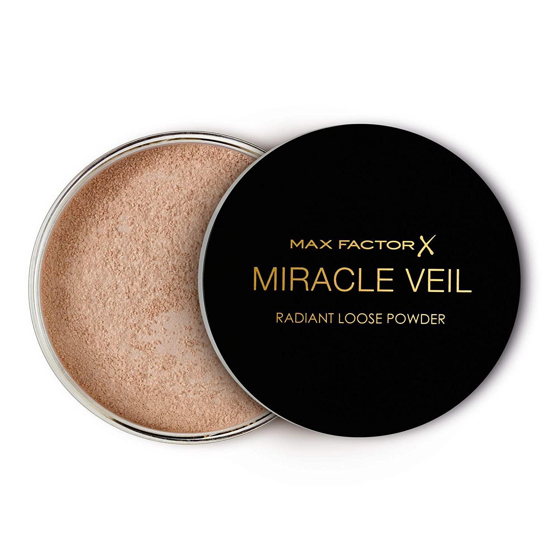 Polvos sueltos translúcidos Miracle Veil de Max Factor