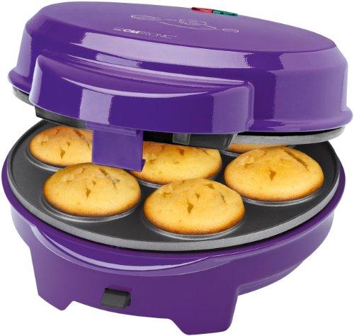 Clatronic - Máquina de hacer magdalenas, rosquillas, donuts y cake pops 700W