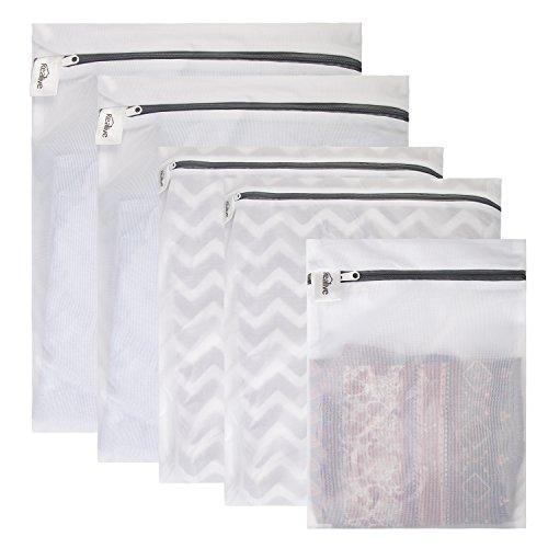 Kealive 5 Pcs Bolsas para la colada De lavado