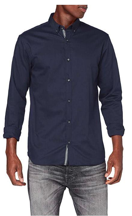Jack & Jones Jprfocus Solid Shirt Camisa para Hombre