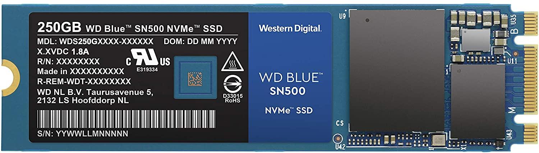 WD Blue SSD 250GB NVMe