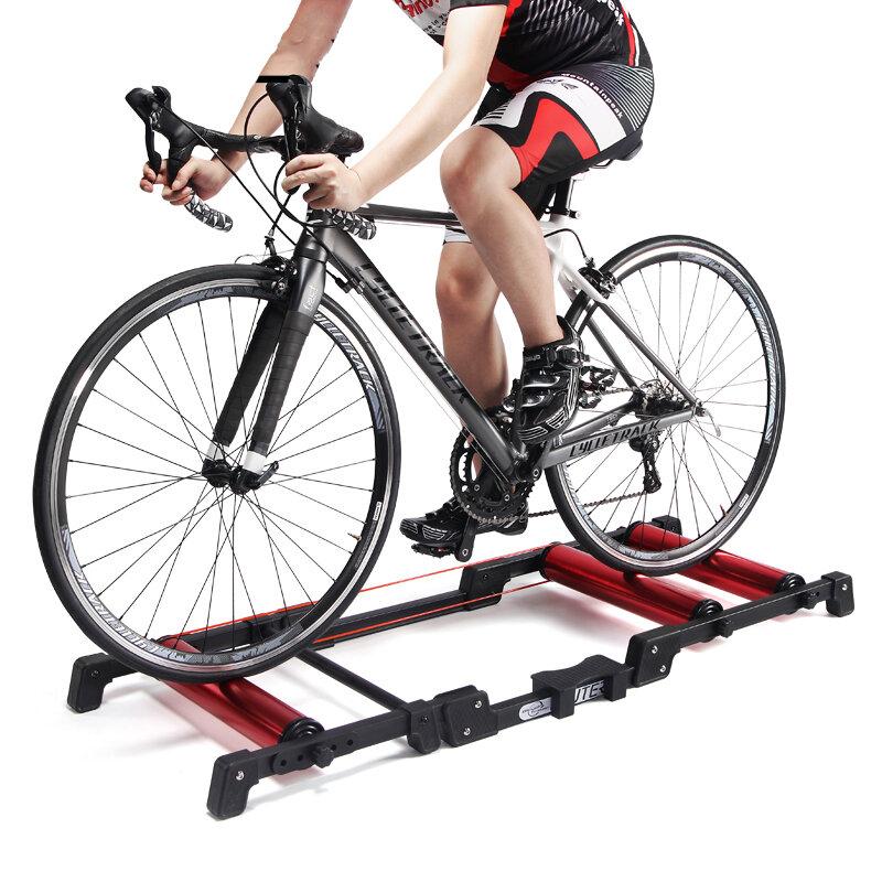 Rodillos de bicicleta de aleación de aluminio -PLEGABLE POCO ESPACIO