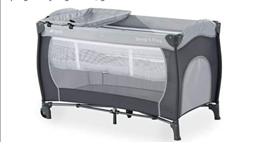 Hauck Sleep N Play Center - Cuna de viaje 7 piezas hasta 15 kg