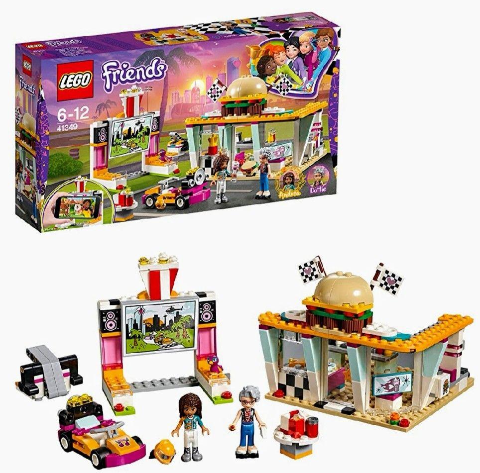 Lego Friends - Cafetería de Pilotos y la 2°Unidad - 70%
