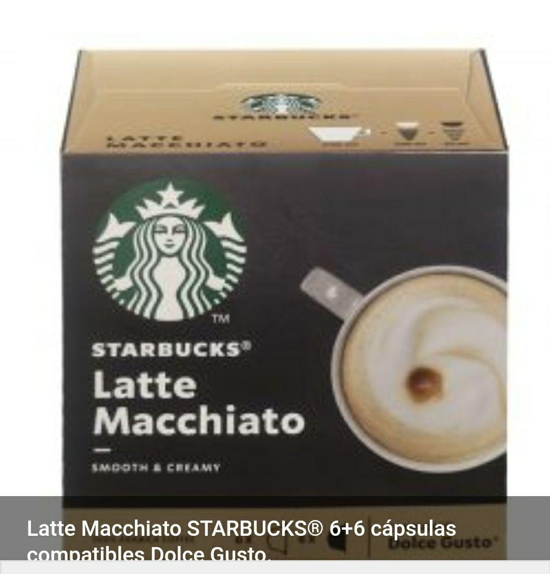 Capsulas Dolce Gusto latte macchiato Starbucks