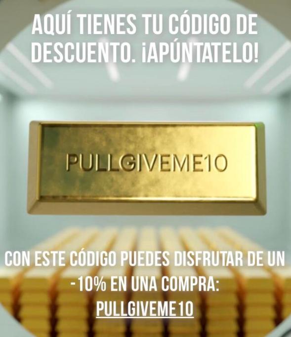 Código descuento 10% Pull and Bear