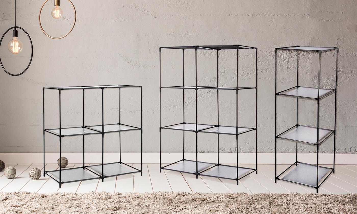Estantería modular de 6 estantes