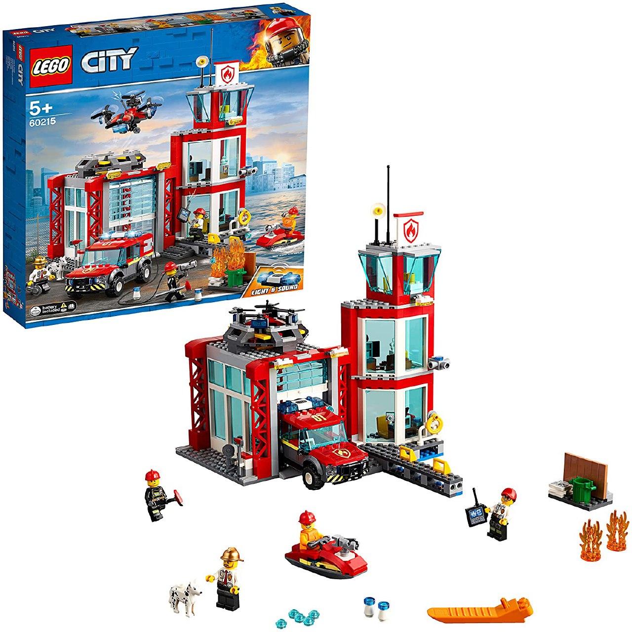 LEGO City Parque Bomberos solo 48.4€