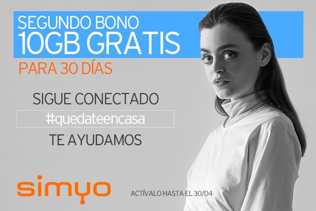 Vuelven a regalar 10GB Simyo, nueva promo es la segunda