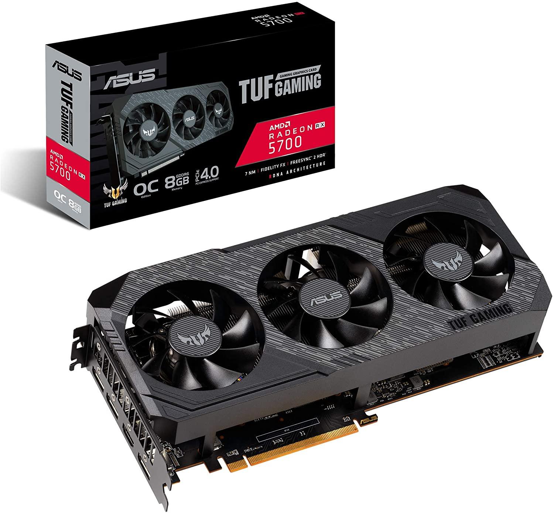 Tarjeta gráfica ASUS TUF Gaming X3 Radeon RX 5700 OC Edition - 8 GB de memoria GDDR6