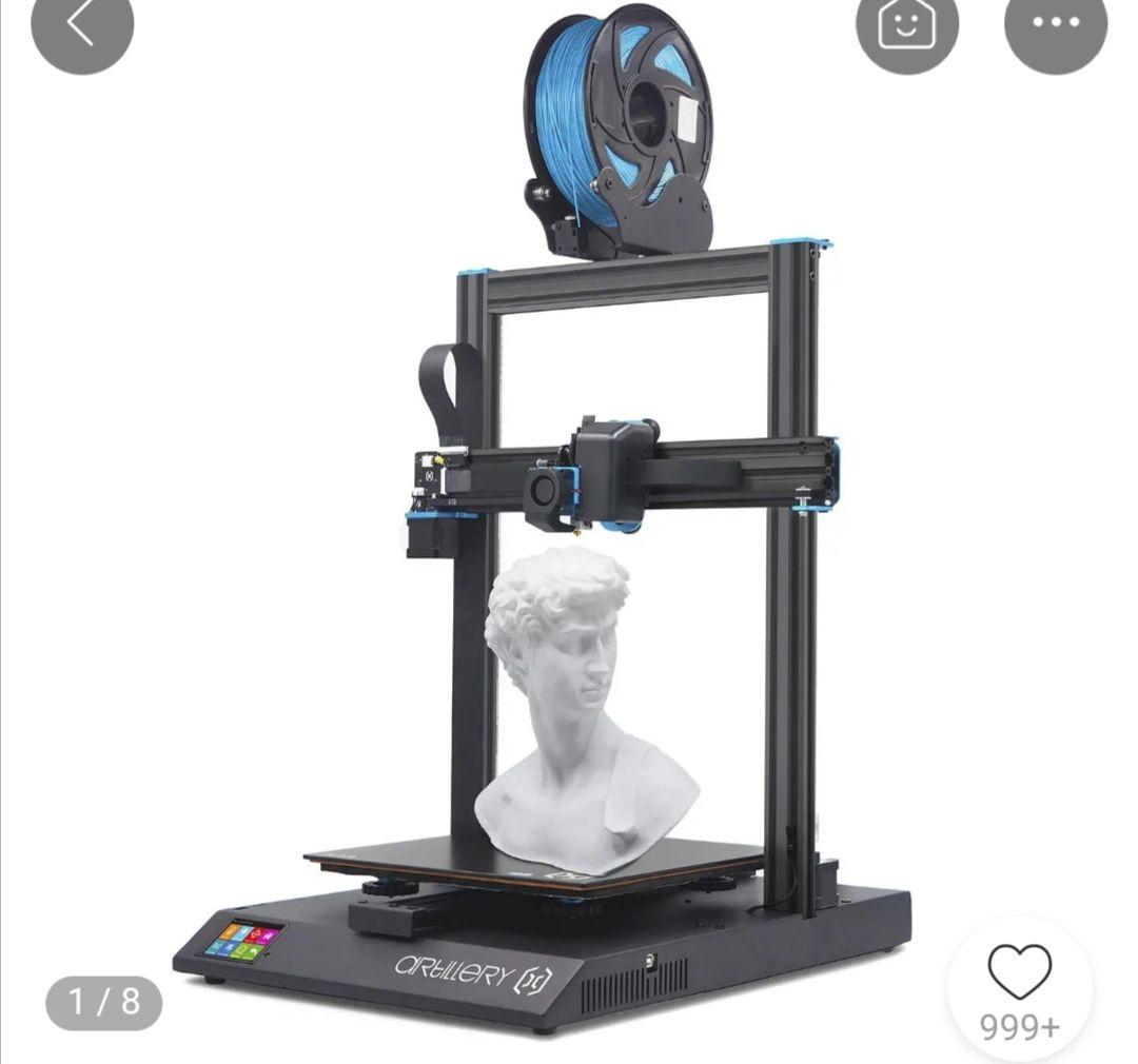 Impresora 3D Artillery Sidewinder x1