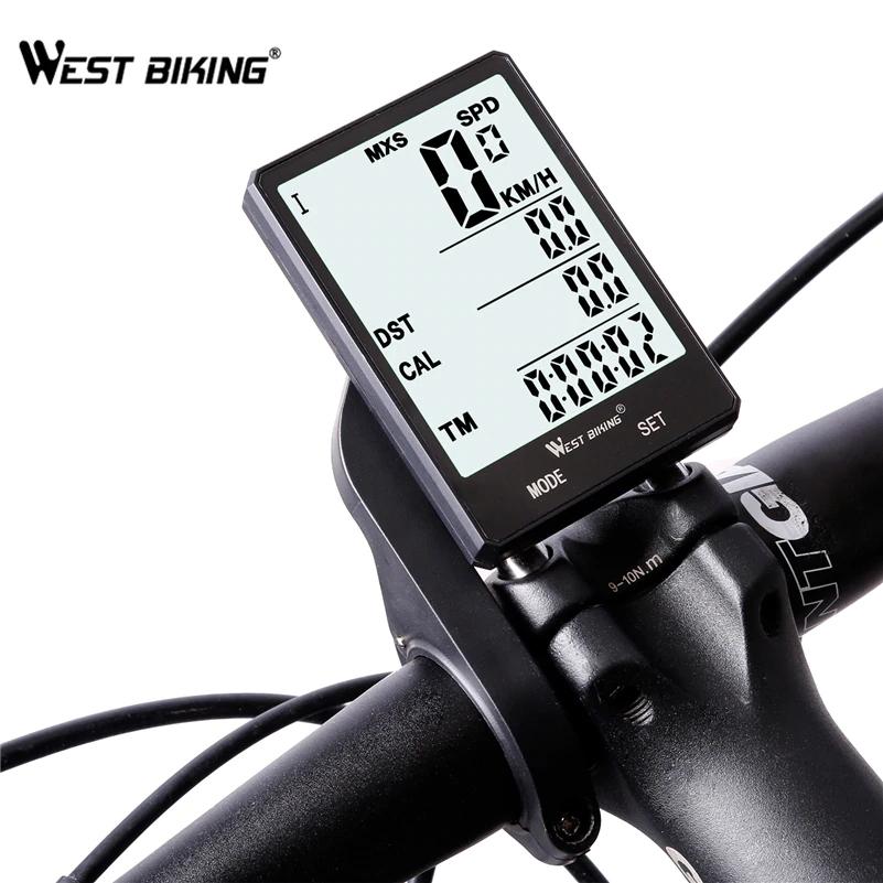West Biking - Ordenador de bicicleta 22 funciones - inalámbrico