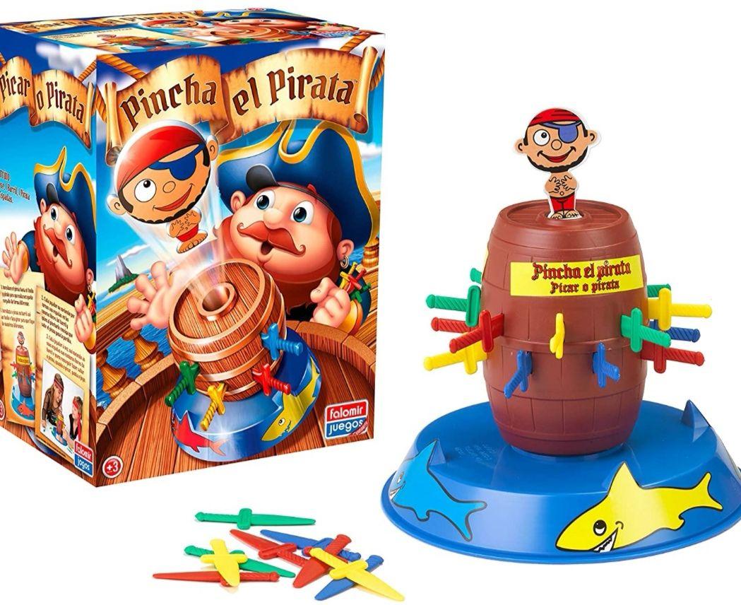 Falomir- Pincha el Pirata Juego de Mesa