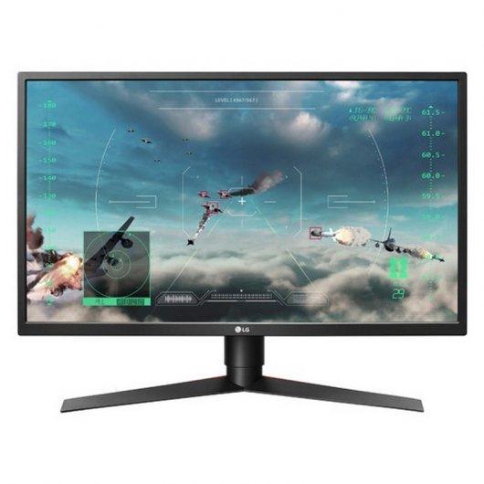"""Monitor LG 27GK750F-B 27"""" LED FullHD 240Hz FreeSync (Reacondicionado)"""