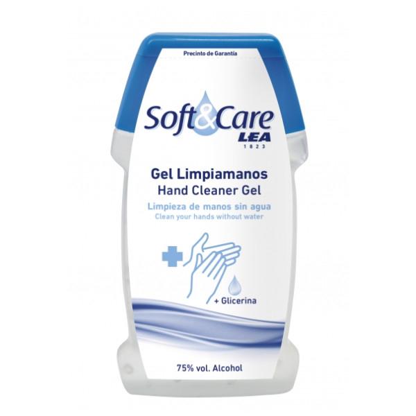 LEA - Gel de Alcohol Limpiamanos Soft Care Volumen : 500 ML