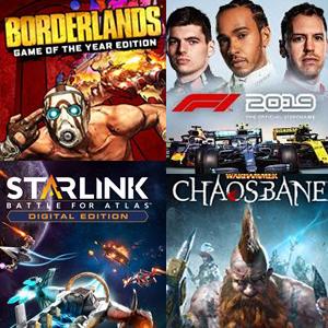 XBOX :: Juega Gratis F1 2019, Borderlands GOTY, Warhammer Chaosbane y Starlink