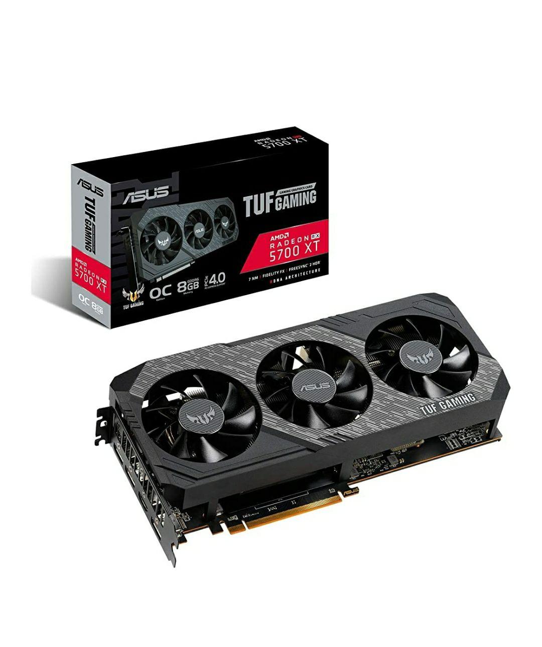 Asus TUF Gaming Radeon RX 5700 XT OC 8GB GDDR6