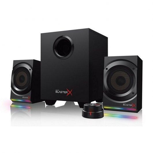 Creative Sound BlasterX Kratos S5 2.1RGB Rastrillo Pc Componentes