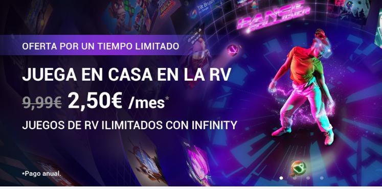 Un año de Viveport Infinity por 30 euritos