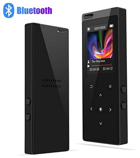 MP3 Bluetooth 4.0, 8GB con Radio FM