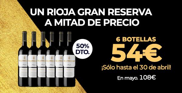 Vino Rioja Gran Reserva Montecillo 2011