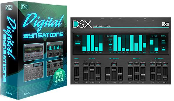 Gratis Instrumento virtual Digital Synsations estilo 80s 90s Korg M1, Ensoniq VFX, SY77 y D50. Estilo Depeche Mode, The Cure Pet Shop Boys