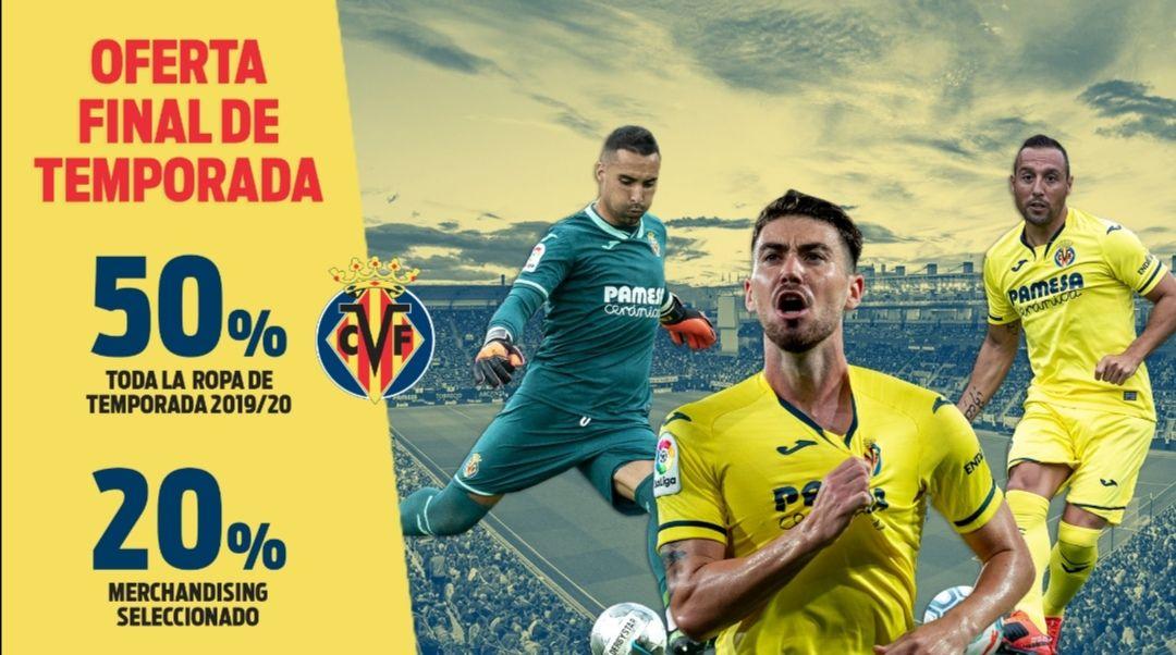 50% ropa temp. 19/20 del Villarreal CF
