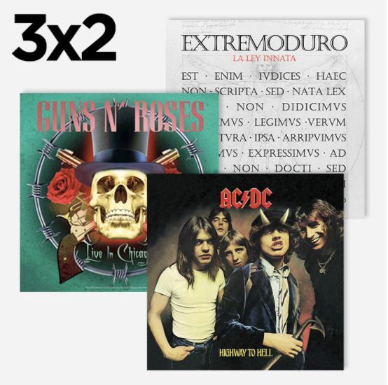 3x2 en vinilos de música en El Corte Inglés