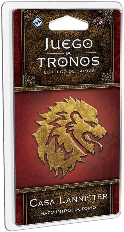 Juego de Tronos LGC: Mazo Introductorio de la Casa Lannister.