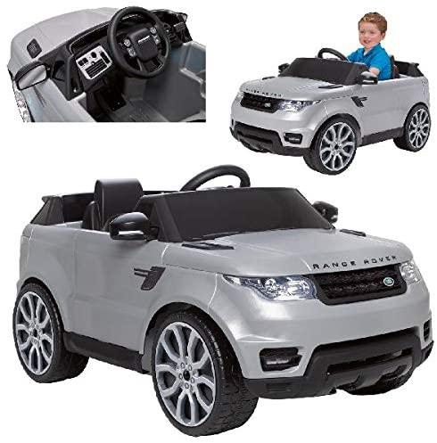 Feber- Range Rover Sport Coche eléctrico para niños 3 a 7 años de juguete, 6V
