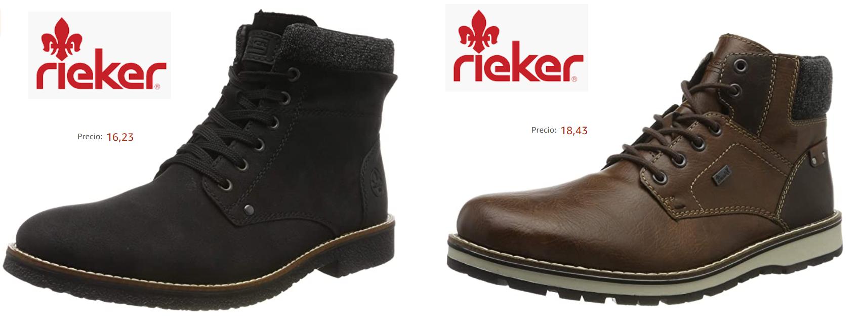 (2 COLORES) - TALLA 40 - Rieker 03011, Botas para Hombre (Desde 16.23€)