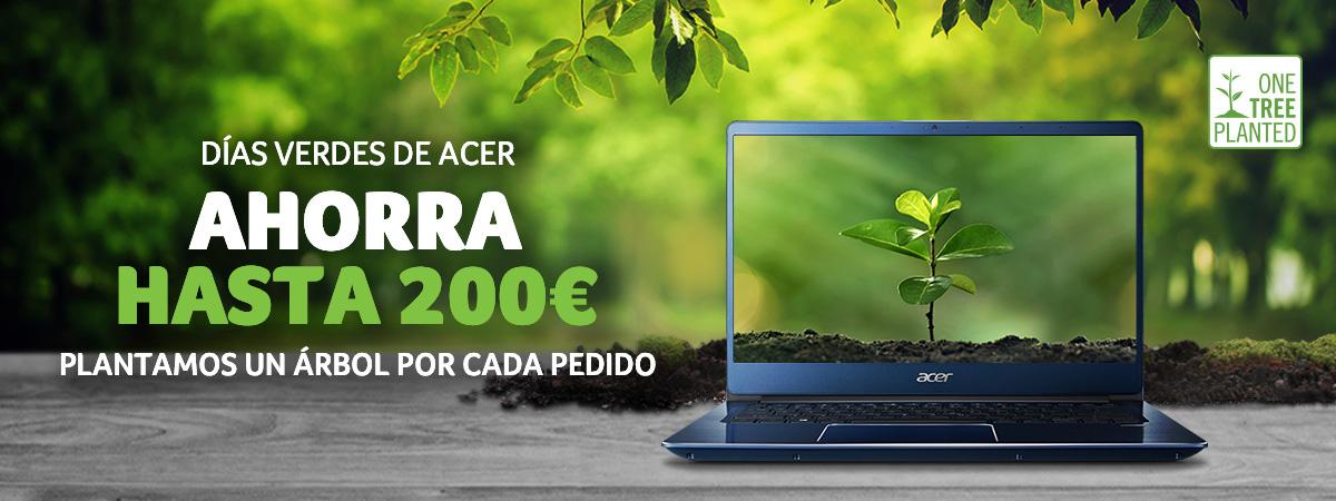 Días verdes de acer - ahorra hasta 200€
