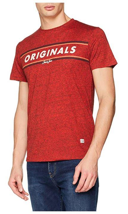 Jack & Jones Jortuco tee SS Crew Neck Camiseta. L.