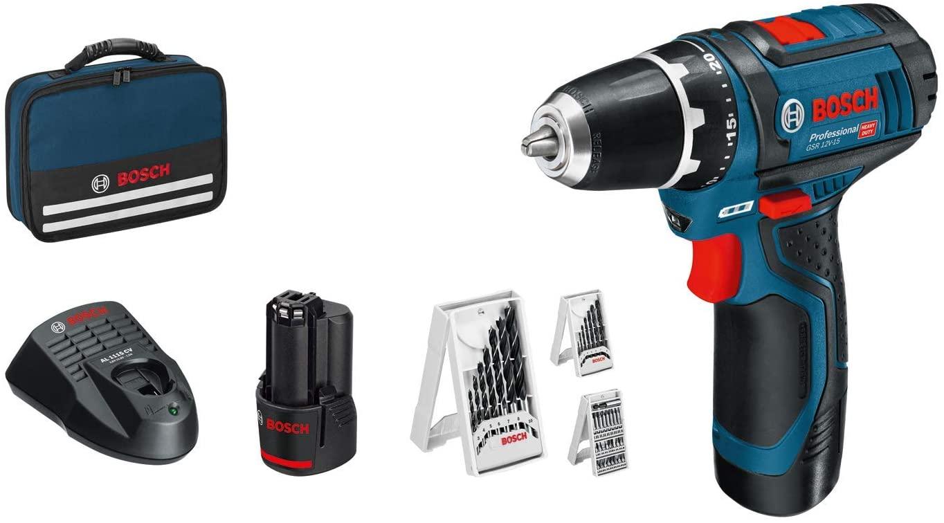 Oferta Flash Atornillador Bosch Professional GSR 12V-15