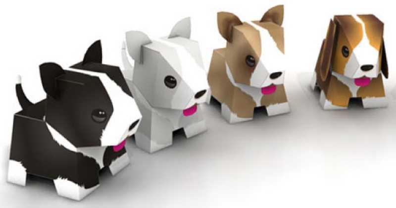 Actividades para niños Recortables Mascota de papel cartulina en 3D Gratis y muy fácil ( más personajes ver descripción)